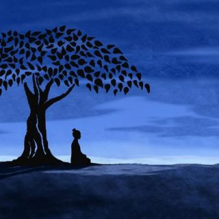 illuminazione buddha