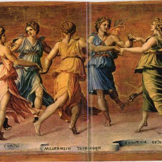 la danza nell'antica Grecia