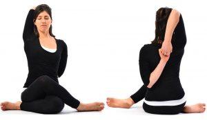 cervicale posizioni yoga