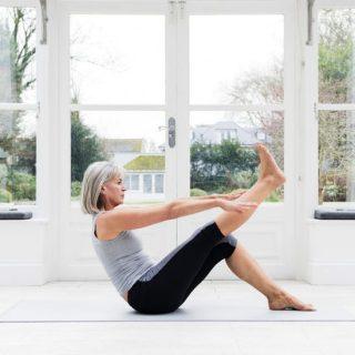 menopausa yoga