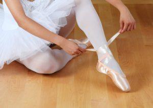 punte primi passi tecnica della danza