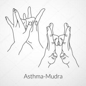 mudra per l'asma e rimedi naturali