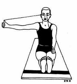 esercizio yoga guarigione occhi vista