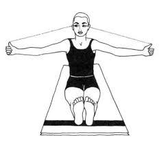 esercizio per guarigione vista dallo yoga