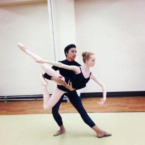 prese in aria danza classica